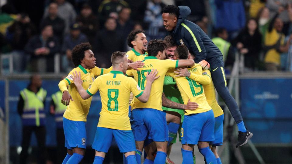 Brazil Overcome Paraguay On Penalties To Reach Copa America Semis