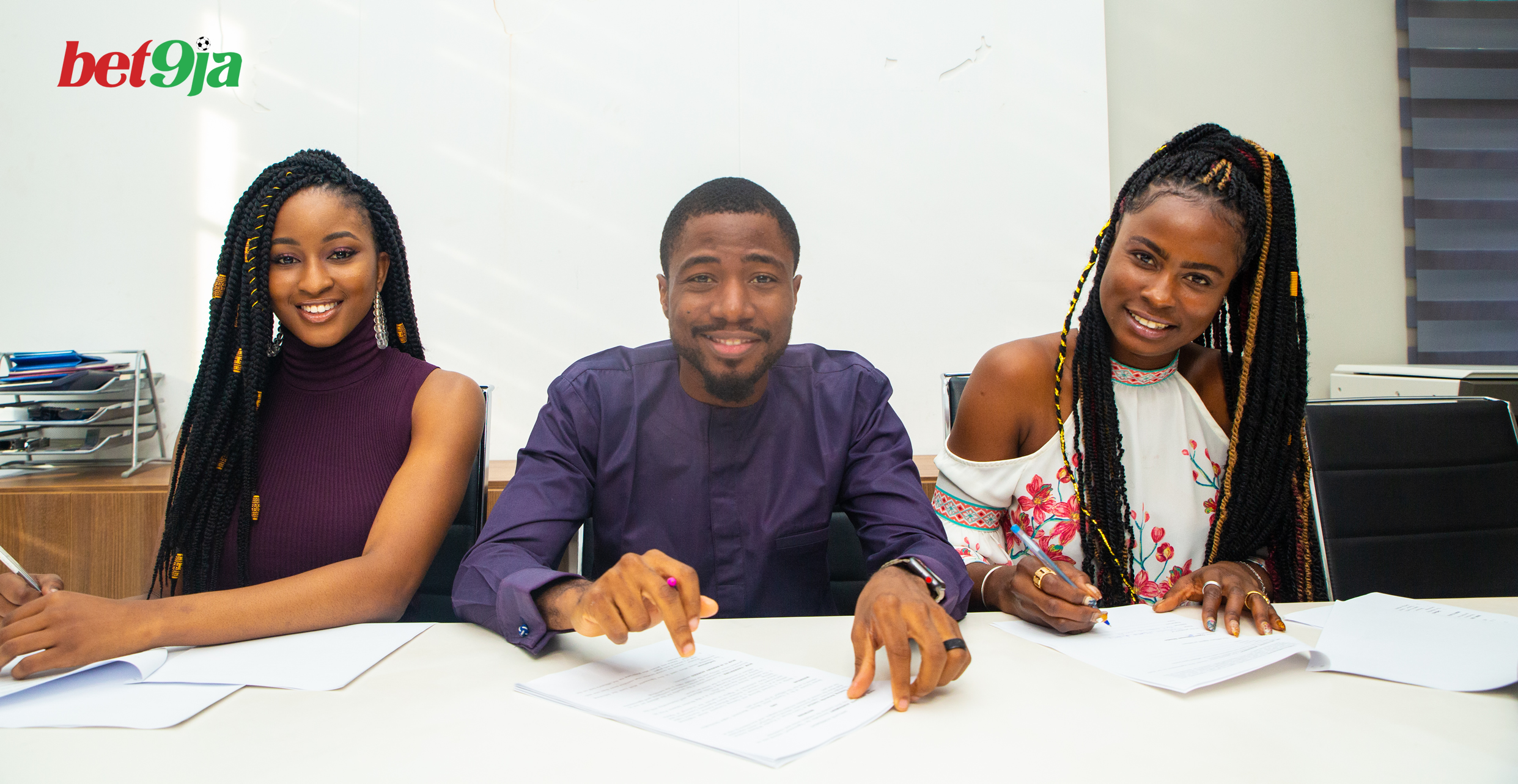 Ella And KimOprah Sign Affiliate Endorsement Deal With Bet9ja