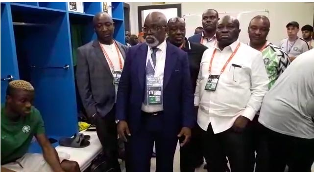AFCON 2019: Amaju Ginger Super Eagles Players For 3rd Place