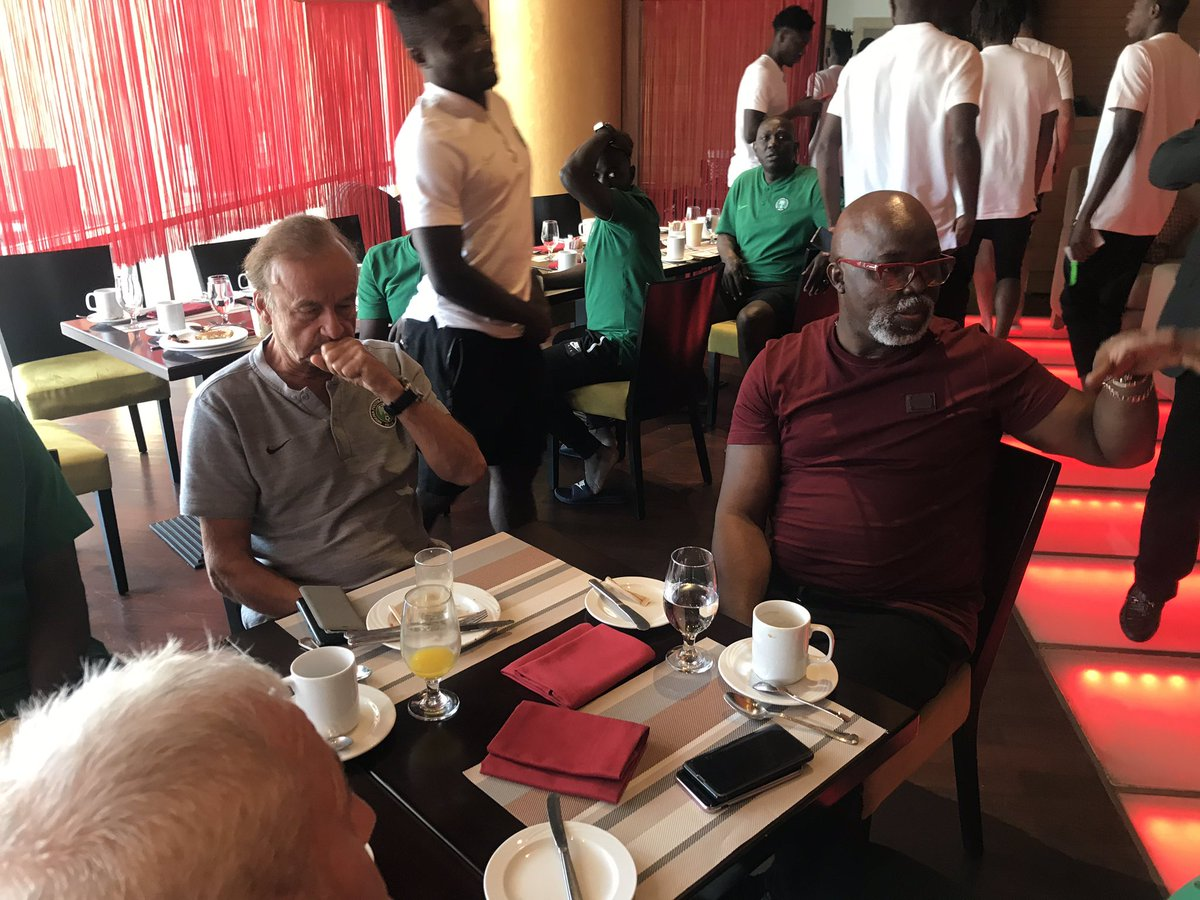 #AFCON 2019: Rohr Will Not Be Sacked As Super Eagles Coach – Amaju