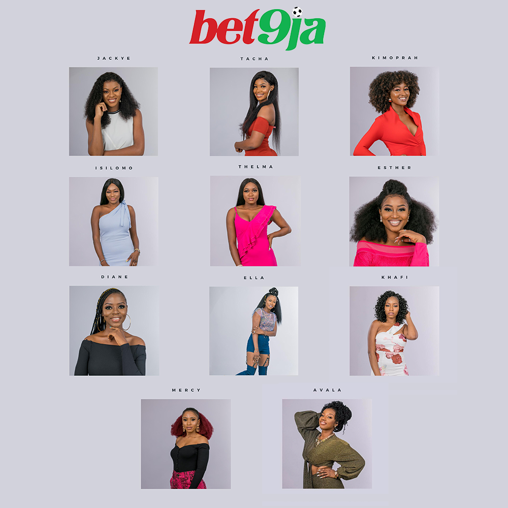 #Bet9jaBBN: Meet The Women Who Are Set To Make You Glued To Your TV Screens