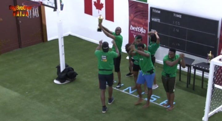 #Bet9jaBBN: Green Team Wins First Ever Bet9ja Arena Games