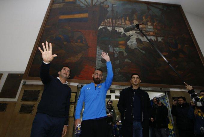 #TransferNews: De Rossi Joins Boca Juniors