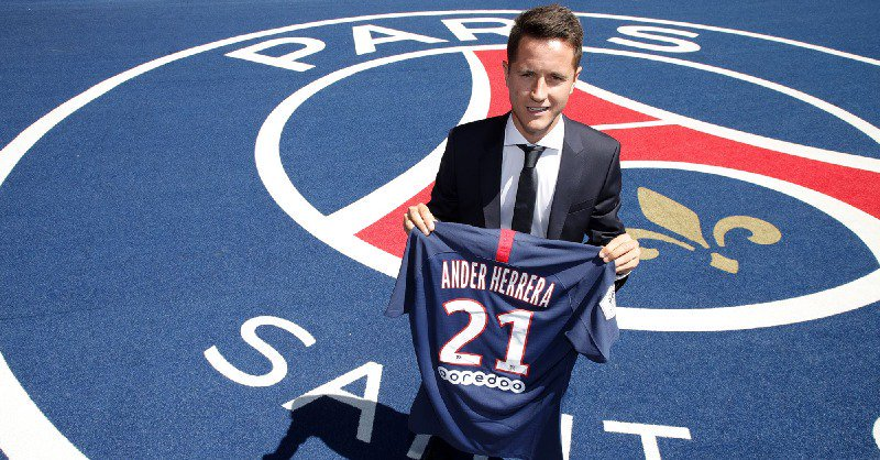 Herrera Promises Passion As He Joins PSG