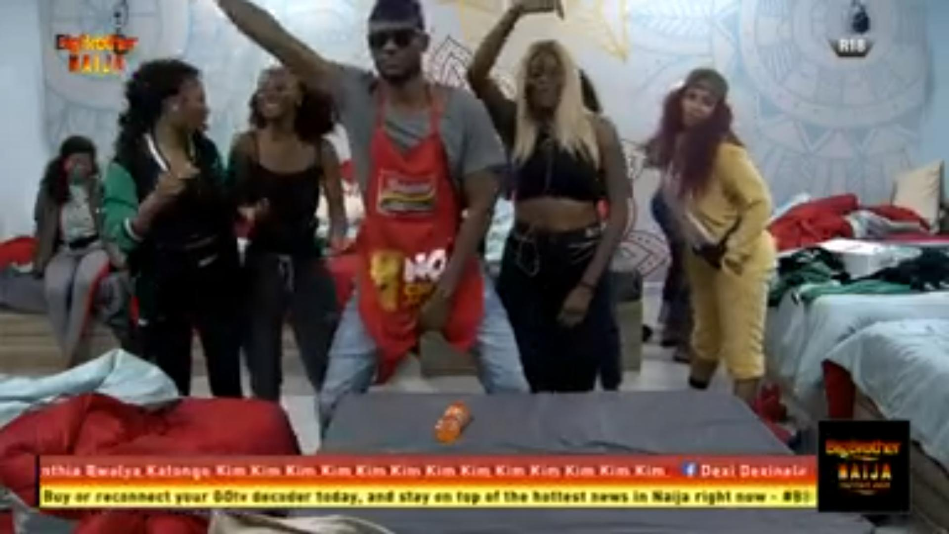 Twerks, Zanku And Other Outrageous Dance Steps Take Over The #Bet9jaBBN House