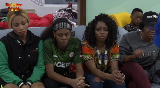 #Bet9jaBBN: Housemates Loose Morale As Biggie Announces First Eviction