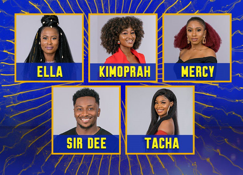 5 #Bet9jaBBNaija Pepper Dem Housemates Up For Eviction This Week