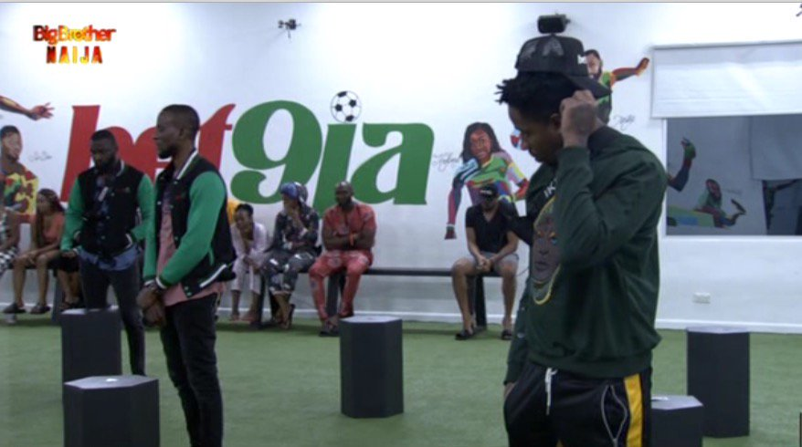 #Bet9jaBBN Housemate Seyi Gets Veto Power As He Wins Game Of Chance