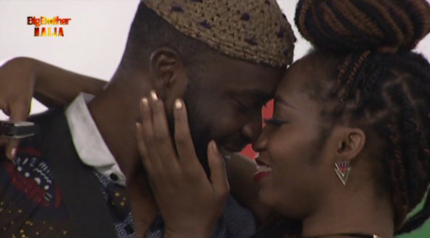 #Bet9jaBBN: 'KHADONI' Ship Sails As Khafi And Gedoni Share Passionate Kiss.