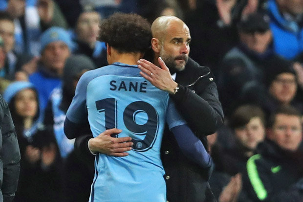 Sane's Future Out Of City's Hands, Says Pep Guardiola