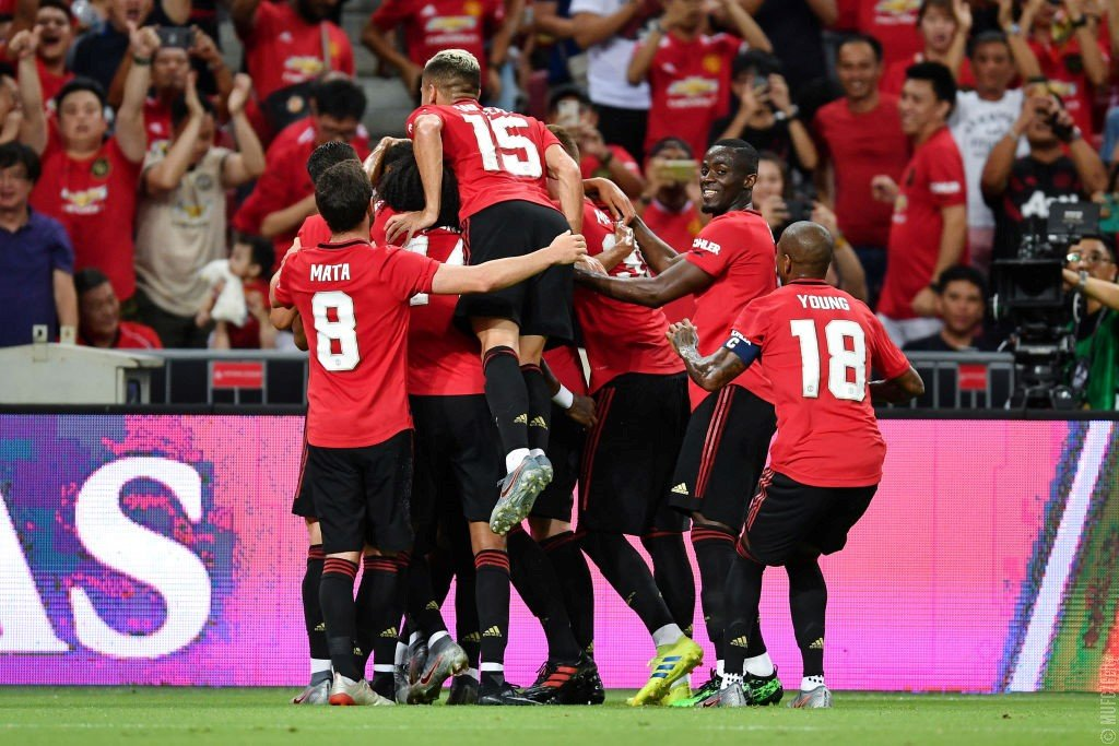 #PreSeason: Man United Thrill Packed Stadium With Inter Win