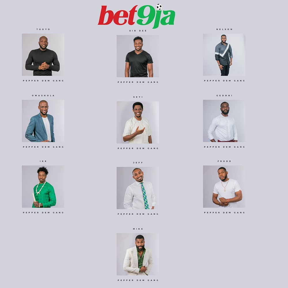 #Bet9jaBBN: Meet The Men Who Are Set To Make You Glued To Your TV Screens