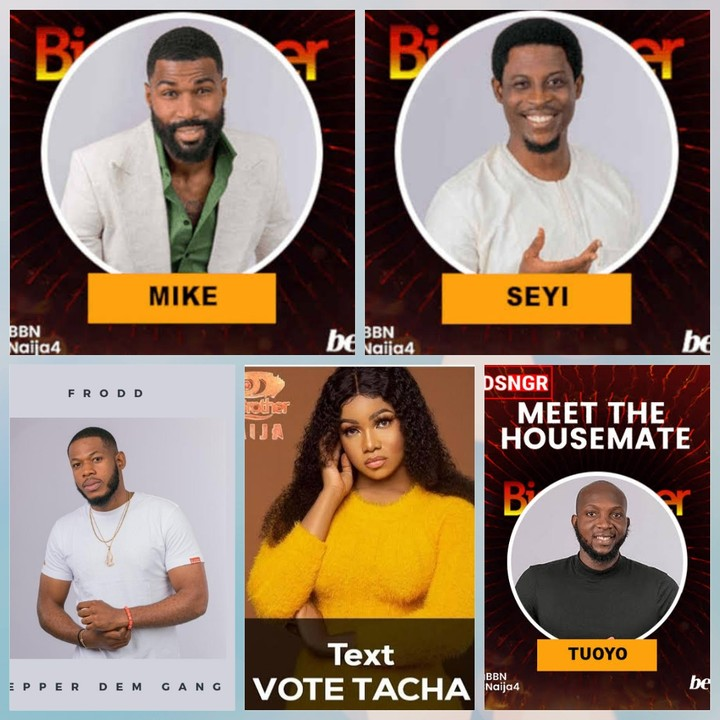 #Bet9jaBBN: Who's Next To Leave? Five Housemates Up For Eviction