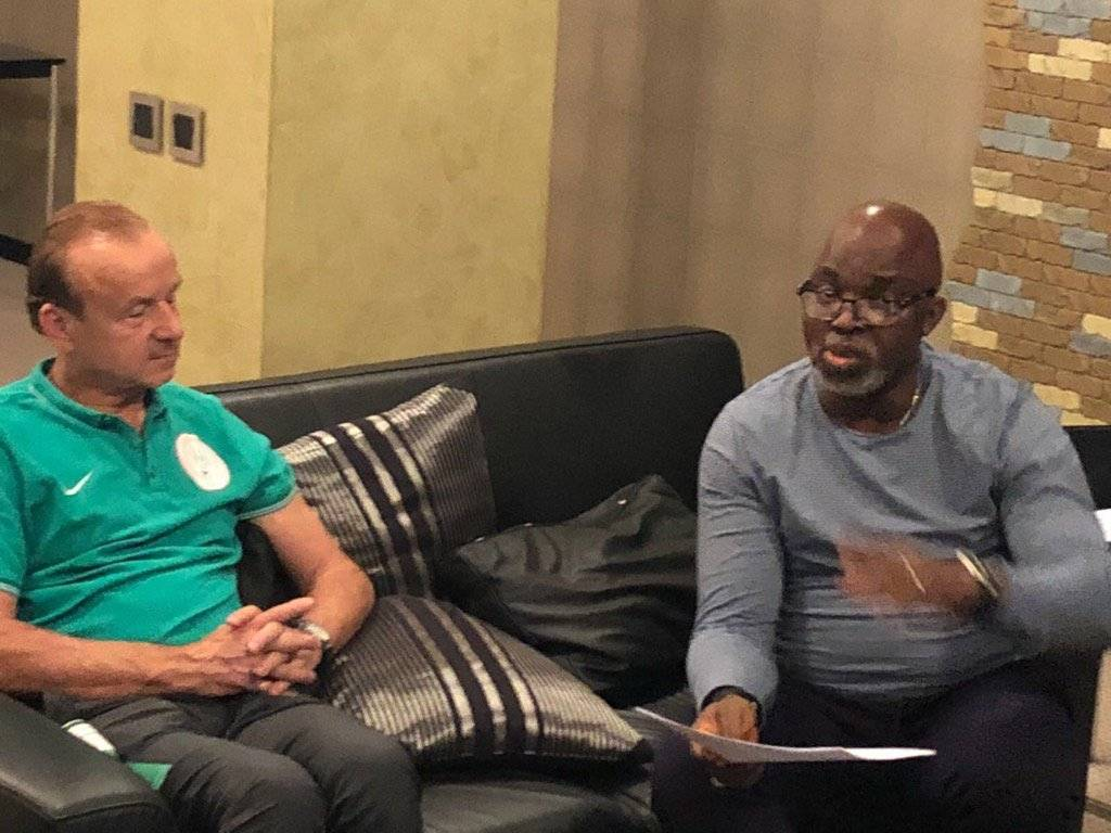 Amaju Pinnick Backs Coach Gernot Rohr