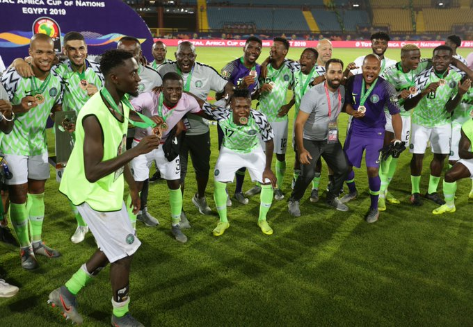 NFF Confirm Super Eagles VS Ukraine Friendly
