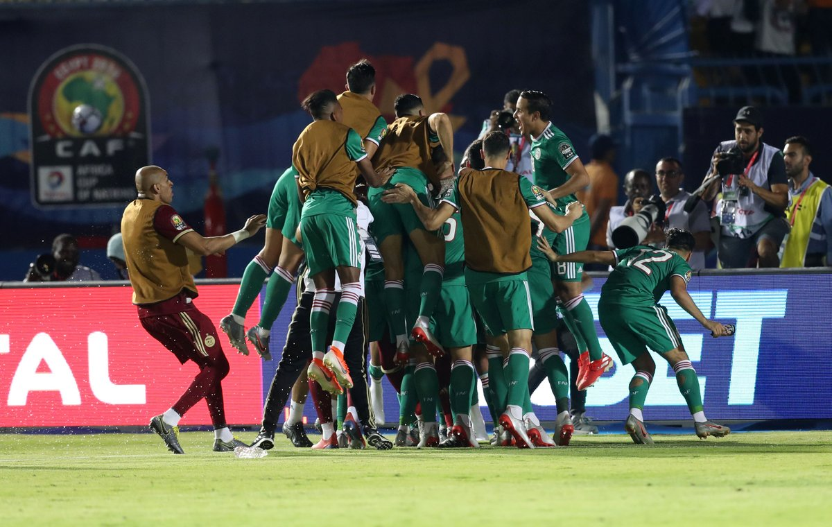 AFCON 2019: Algeria To Face Super Eagles In Semi-Finals