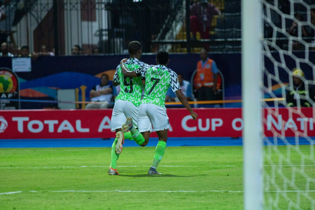 AFCON 2019 : Odion Ighalo Brace Sends Nigeria Into Quarterfinals