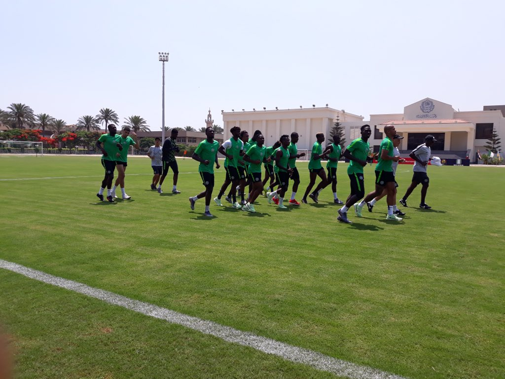 #AFCON 2019: Super Eagles To Train Behind Closed-door For Algeria Match