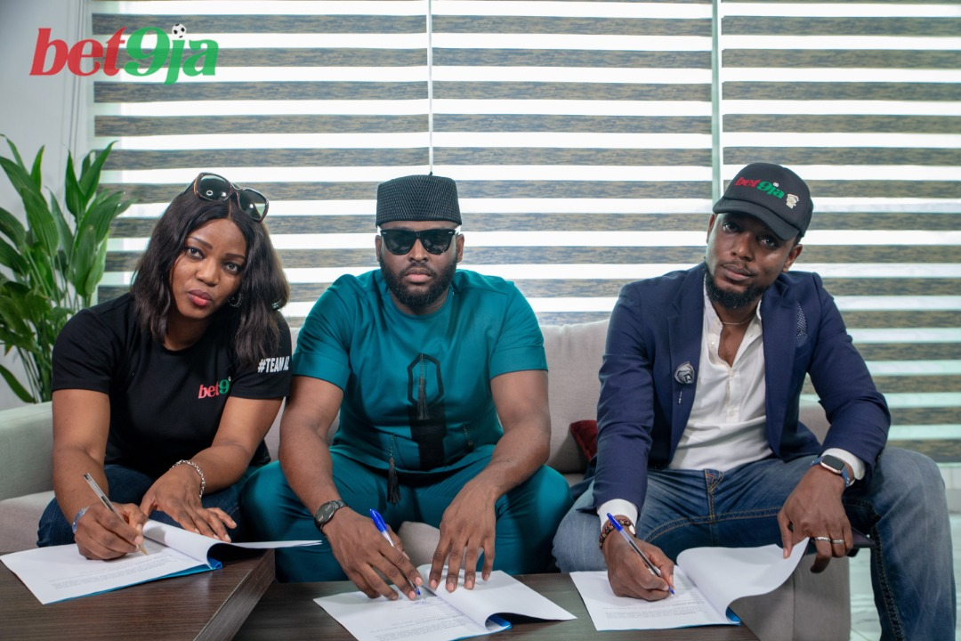 Bet9ja Signs On Nelson, Thelma And Tuoyo As Affiliate Ambassadors