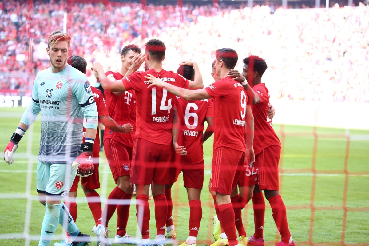Bundesliga: Bayern Hit Six Past Mainz