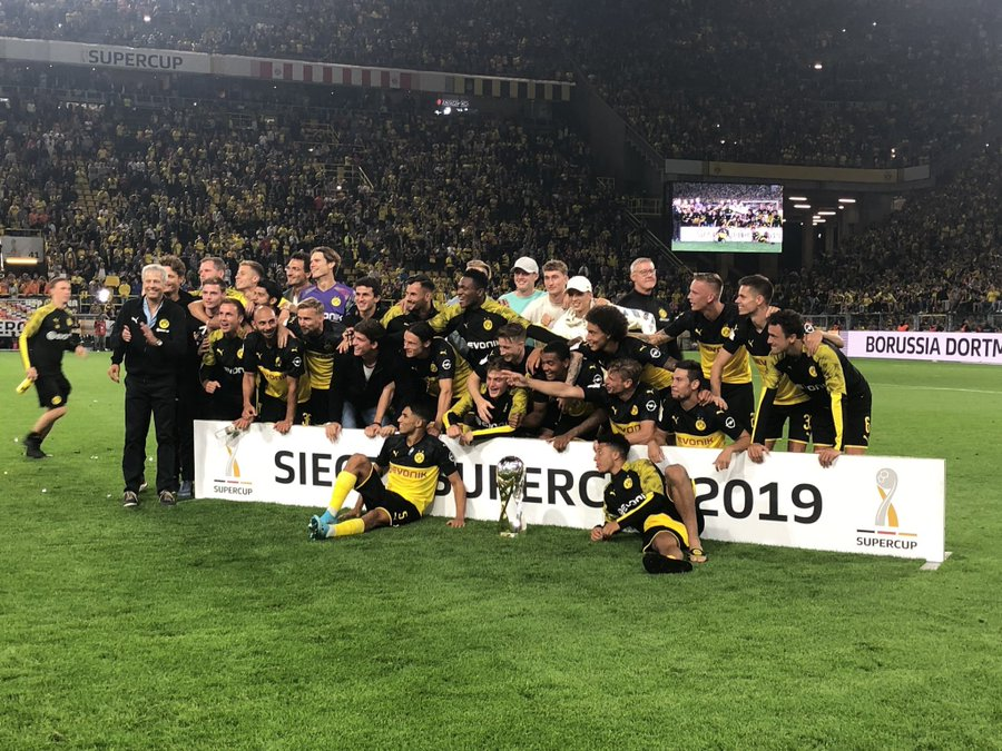 Dortmund Deny Bayern Fourth Straight Super Cup
