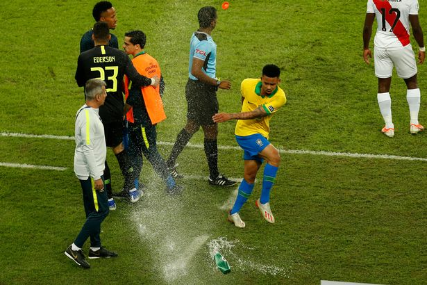 Brazil's Jesus Handed Two-Month Ban For Copa America Final Row