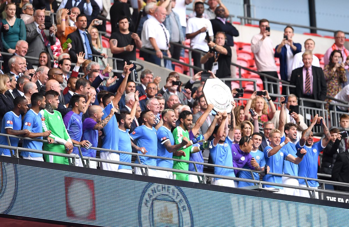 Community Shield Win Is Perfect Prep For Liverpool Rivalry, Says Guardiola