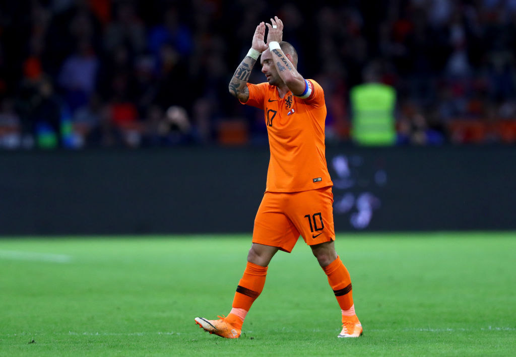 Wesley Sneijder Has Announced His Retirement From Football