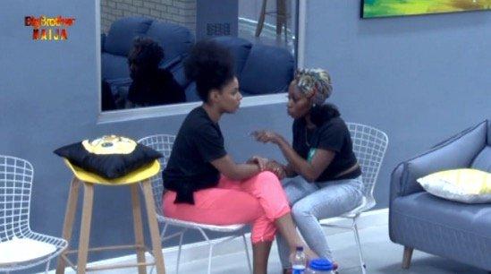 #Bet9jaBBN: Khafi Blows Hot Over Venita's Relationship With Gedoni