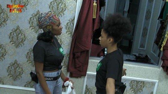 #Bet9jaBBN Housemate Venita Settles Hatchet With Khafi