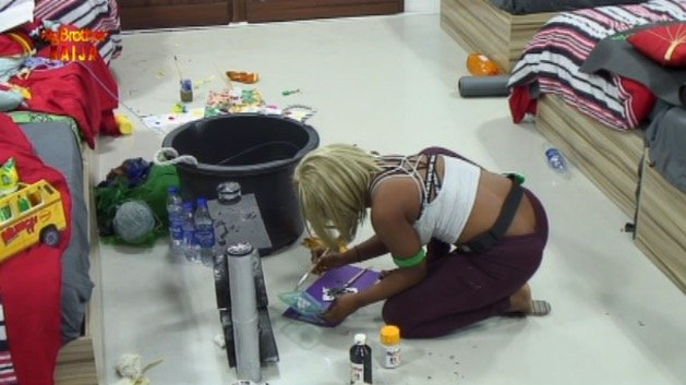 #Bet9jaBBN Housemates Prepare Intensely For Their Weekly Task
