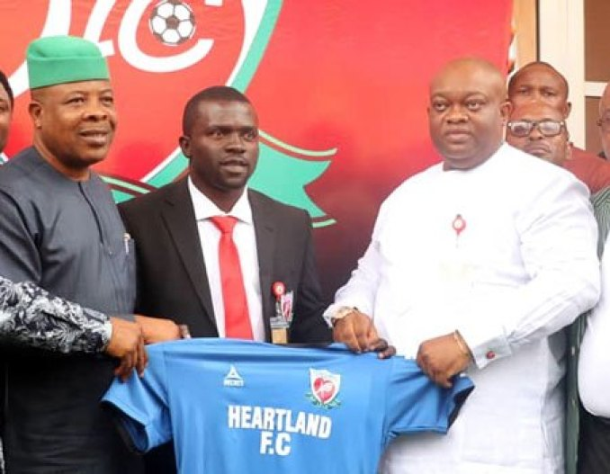 NPFL: Heartland Unveils Ilechukwu As Coach