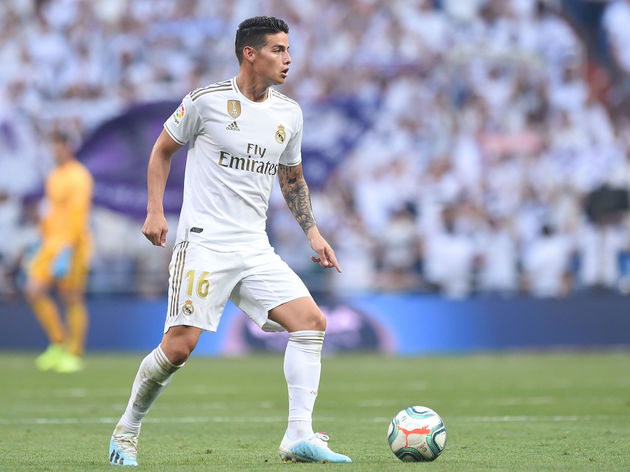 James Rodriguez Delighted To Be Back At Santiago Bernabeu