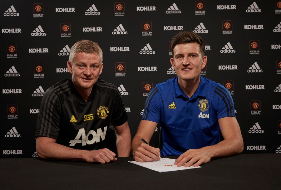 Man Utd Make Maguire World's Most Expensive Defender