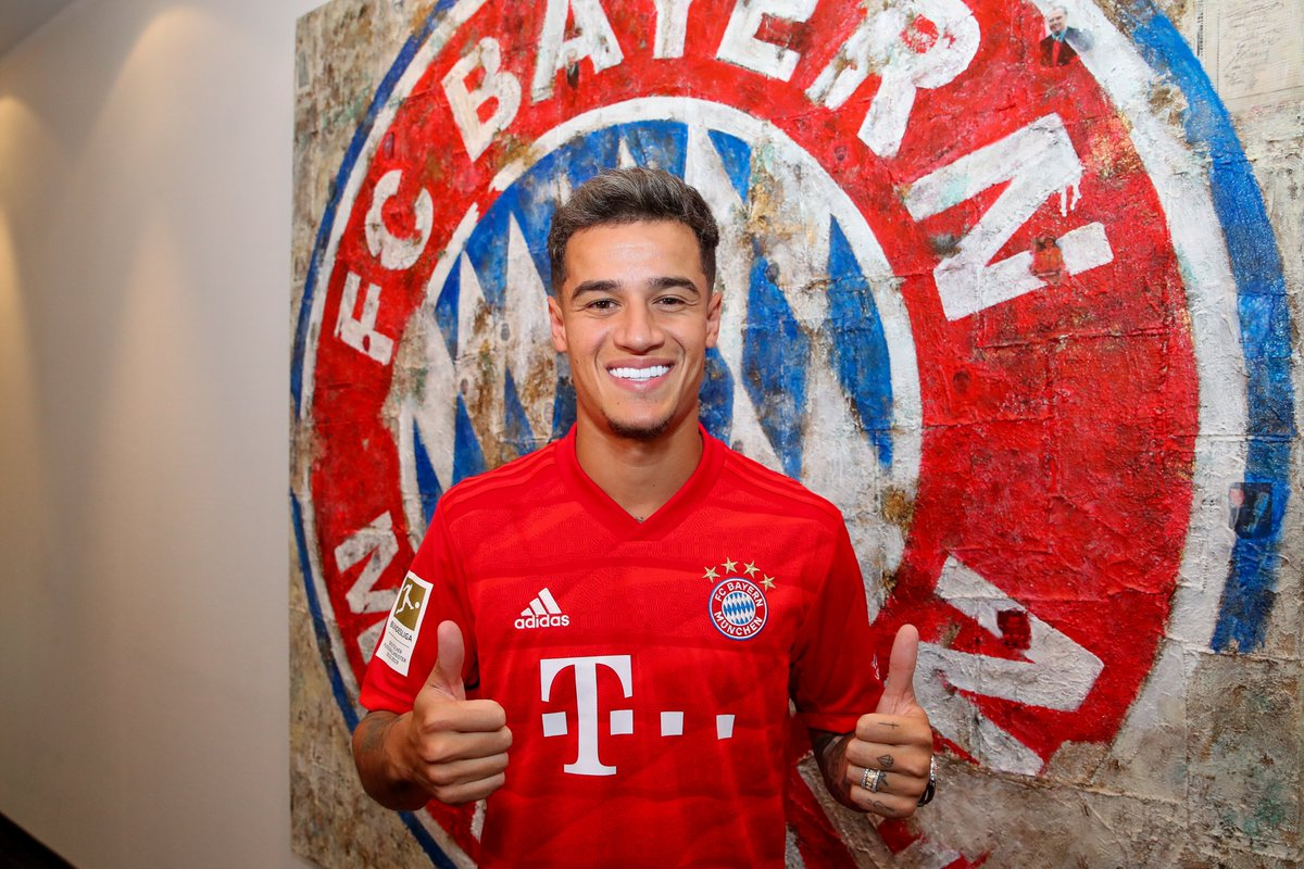 Coutinho Joins Bayern Munich on Loan From Barcelona