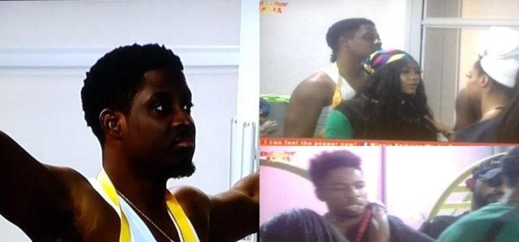 #Bet9jaBBN:  Seyi And Mercy Continue The After Party Fight Trend