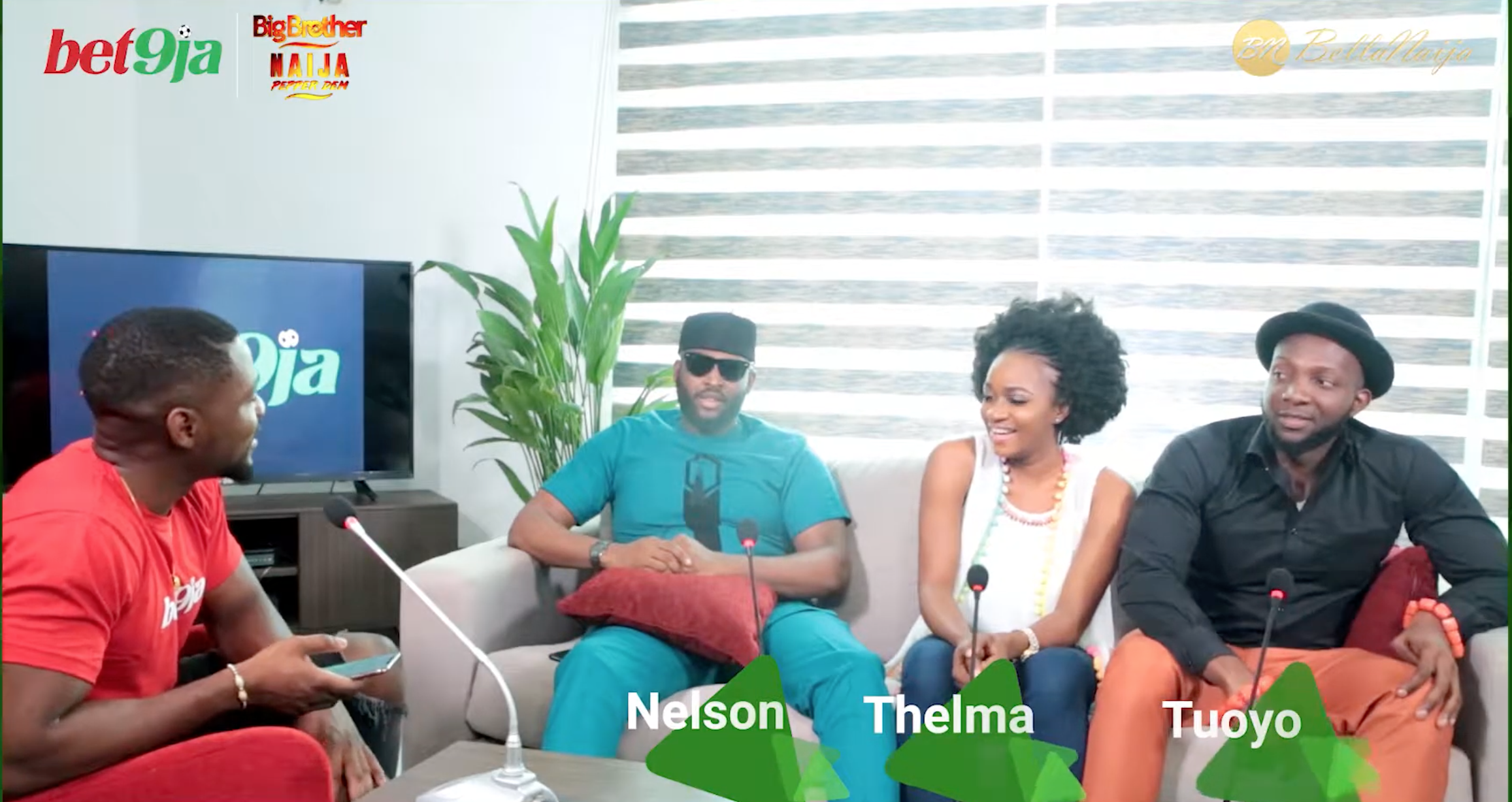 WATCH #Bet9jaBBN 'After The House' EP 3 With Tuoyo, Thelma, And Nelson