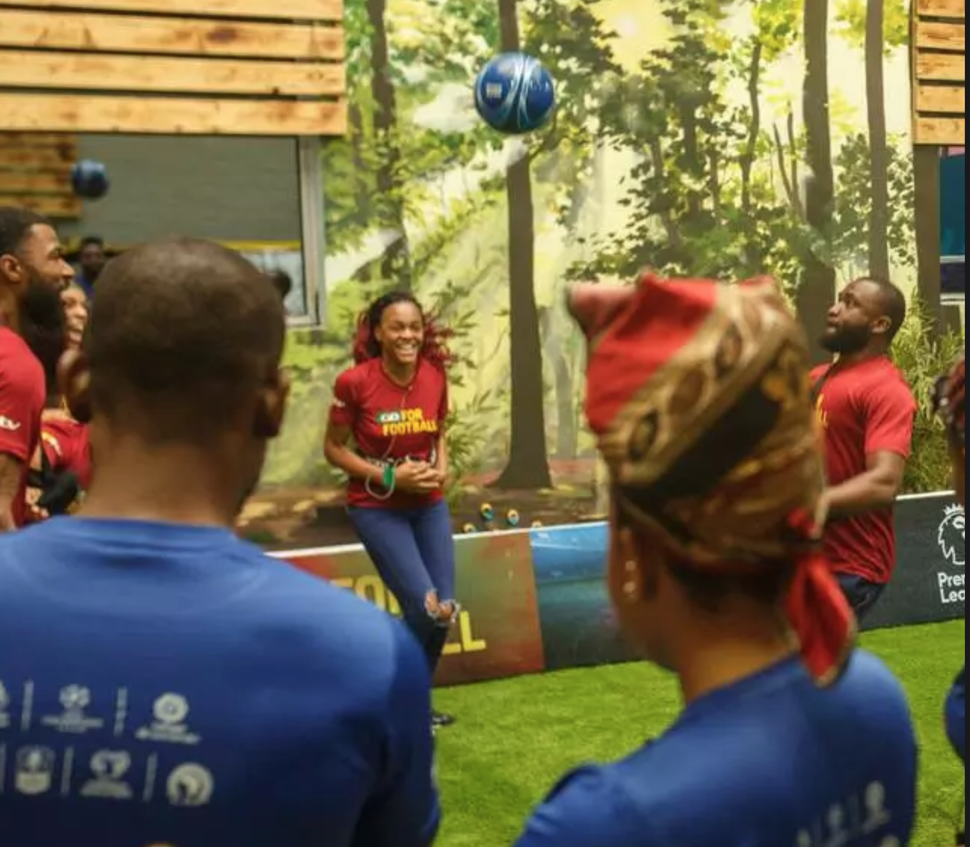 #Bet9jaBBN Housemates Show Their Soccer Knowledge In Football Task
