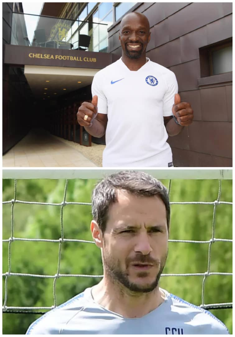 Claudio Makelele And Cudicini  Joins Chelsea's Coaching Staff
