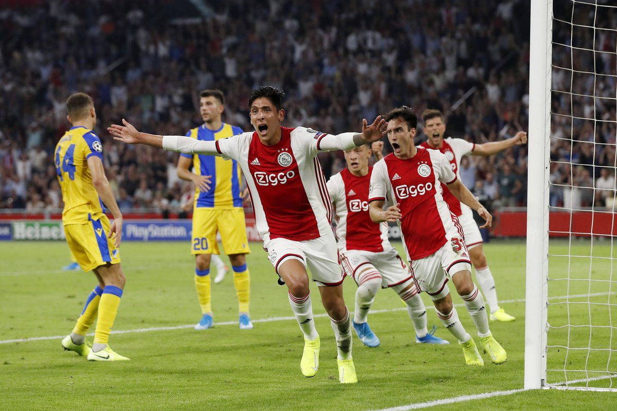 Ajax, Bruges, Slavia Reach UCL Group Stage