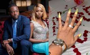 Ex -#BBNaija Housemates, Teddy A And BamBam Announce Engagement