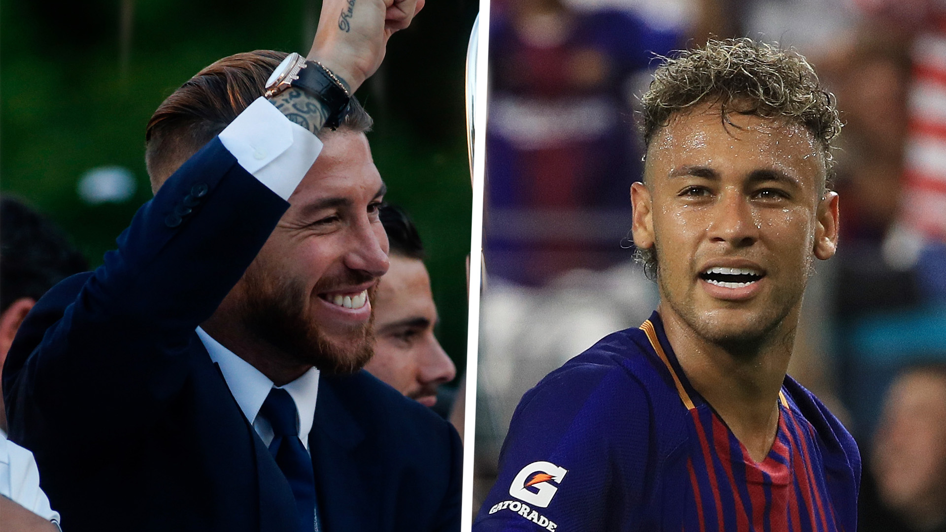 Sergio Ramos Hails Real Madrid Target Neymar As One Of The World's Best