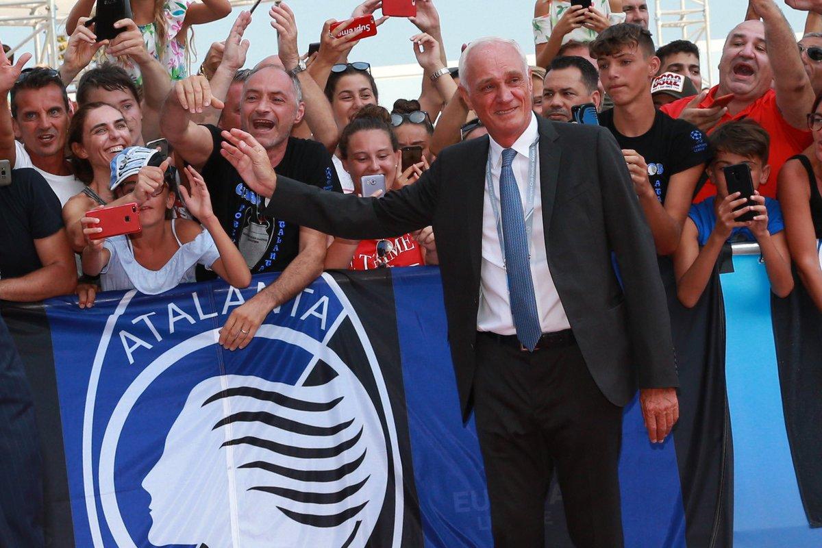 Atalanta Fans Flock To UCL Debut