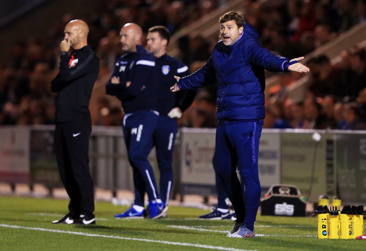 #CarabaoCup: Pochettino Admits Spurs Are 'unsettled' After Colchester Shock