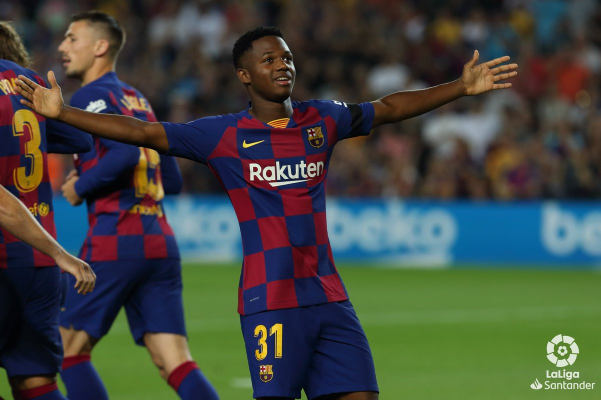 #LaLiga: Teenage Sensation Fati Leads Barca Thrashing Of Valencia