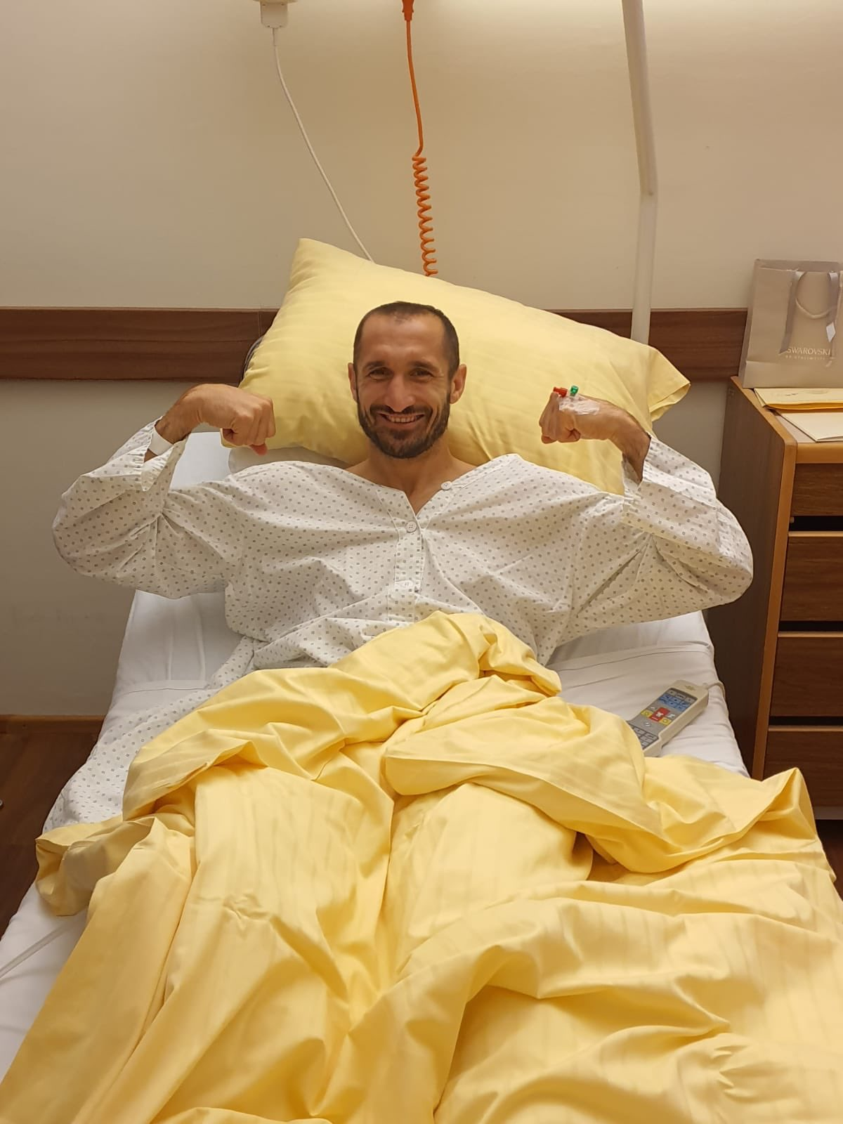 Chiellini Out For Six Months After Knee Surgery