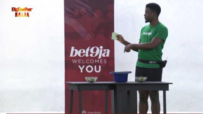 Seyi Gets #Bet9jaBBN Veto Power For The Second Time