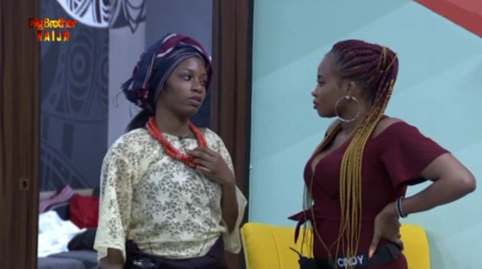 #Bet9jaBBN: Cindy Calls Out Khafi For Being Conniving