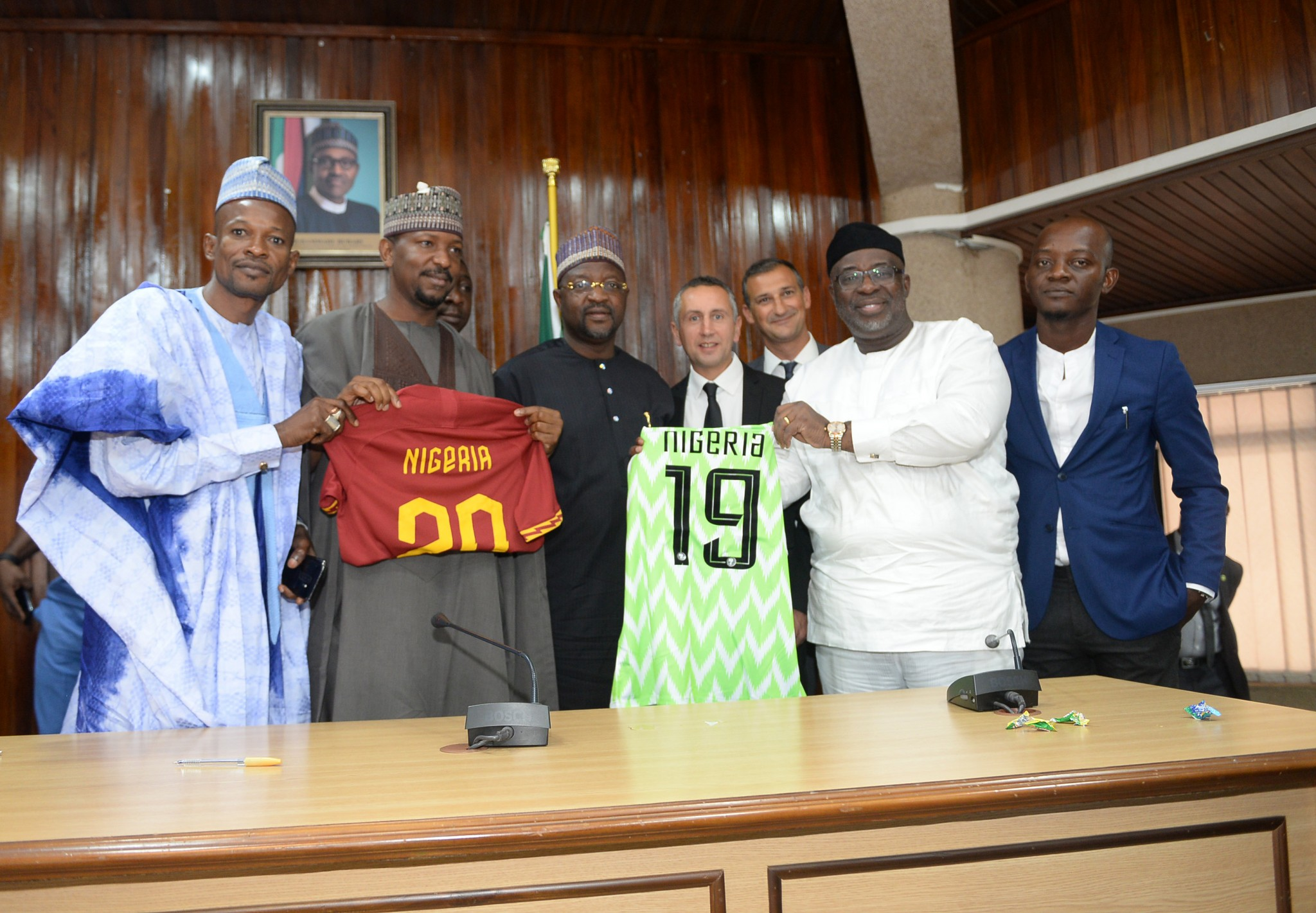 NFF And AS Roma Agree A Collaborative Partnership