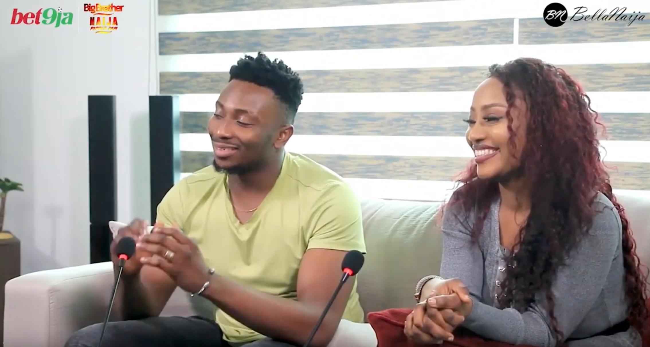 Watch #Bet9jaBBN 'After The House' With Sir Dee And Esther